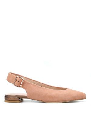 Stuart Weitzman: flat shoes - Heidi slingback flat shoes