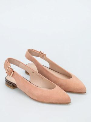 Stuart Weitzman: flat shoes online - Heidi slingback flat shoes