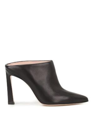 Stuart Weitzman: mules shoes - Camila nappa mules