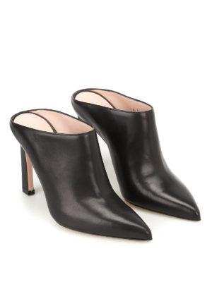 Stuart Weitzman: mules shoes online - Camila nappa mules
