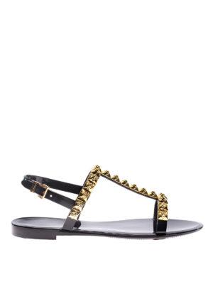 Stuart Weitzman: sandals - Jelrose black sandals
