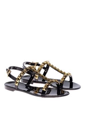 Stuart Weitzman: sandals online - Jelrose black sandals