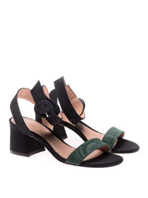 Stuart Weitzman: sandals online - Salana ribbed fabric sandals