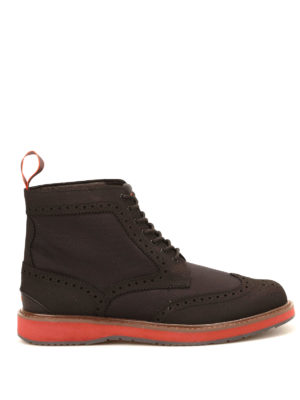 Swims: ankle boots - Barry Brogue ankle boots