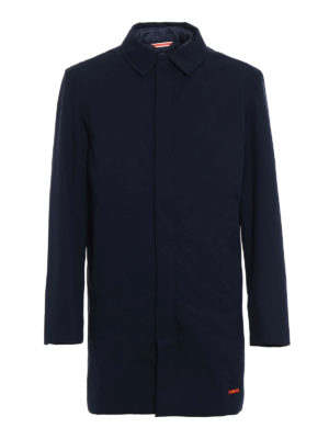 Swims: padded coats - Eton Convertible blue padded coat