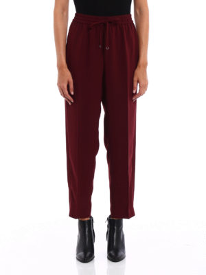 T By Alexander Wang: casual trousers online - Loose crepe trousers