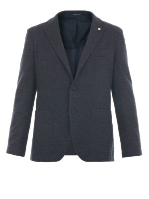 Tagliatore: blazers - Cotton and wool blend blazer
