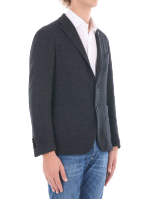 Tagliatore: blazers online - Cotton and wool blend blazer