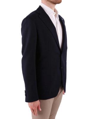 Tagliatore: blazers online - Pure wool unstructured blazer