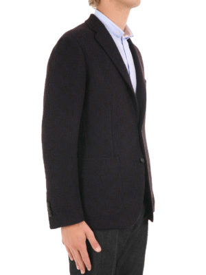 Tagliatore: blazers online - Unlined virgin wool blazer