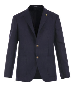 Tagliatore: blazers - Two button wool blazer