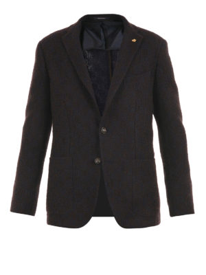 Tagliatore: blazers - Unlined virgin wool blazer