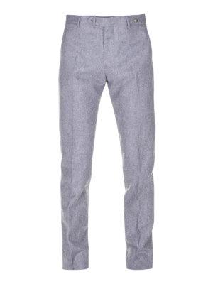 TAGLIATORE: casual trousers - Super 110'S wool trousers