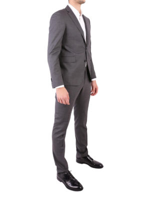 Tagliatore: formal suits online - Grey wool two-piece suit