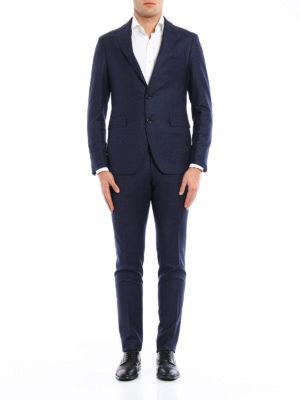 Tagliatore: formal suits online - Micro pattern super fine wool suit