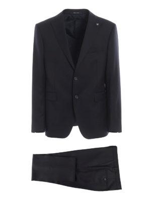 TAGLIATORE: formal suits - Super 110'S virgin wool two-piece suit