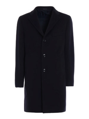 Tagliatore: knee length coats - Cashmere cloth formal coat