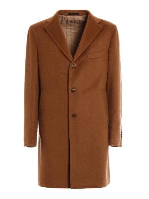 Tagliatore: short coats - Camel classic coat