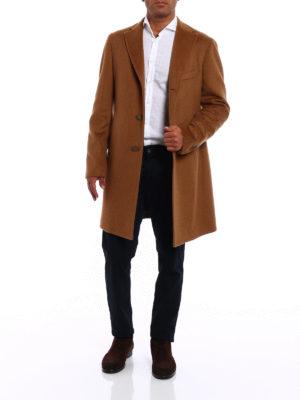 Tagliatore: short coats online - Camel classic coat