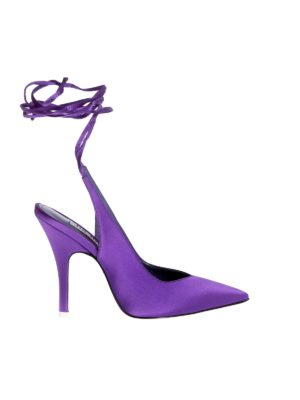 The Attico: court shoes - Venus slingback in violet