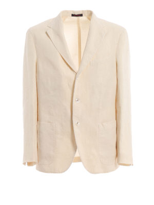 The Gigi: blazers - Natural linen blazer
