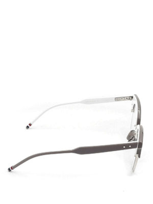 Thom Browne: glasses online - Acetate cat-eye optical glasses