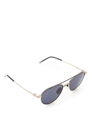 Thom Browne: sunglasses - Acetate and titanium sunglasses