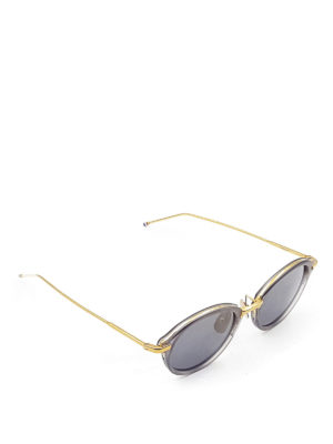 Thom Browne: sunglasses - Acetate