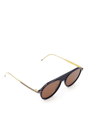 Thom Browne: sunglasses - Acetate sunglasses