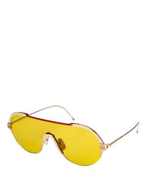 8d69e089e1d THOM BROWNE  occhiali da sole - Occhiali da sole con lente unica a  mascherina