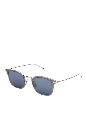 94adb7560b6 THOM BROWNE  occhiali da sole - Occhiali da sole in acetato e titanio
