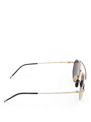 Thom Browne: sunglasses online - Acetate and titanium sunglasses