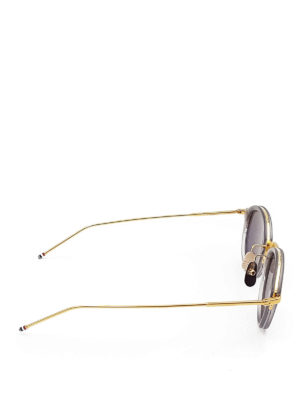 gold and titanium glasses