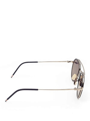 Thom Browne: sunglasses online - Aviator sunglasses