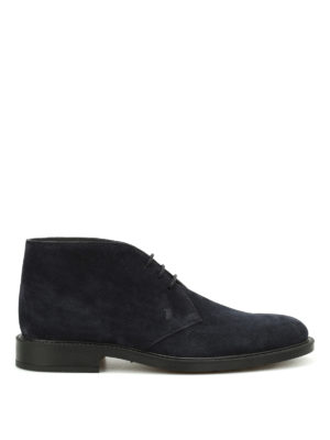 Tod'S: ankle boots - 45A suede desert boots
