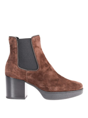 Tod'S: ankle boots - 62A suede ankle boots