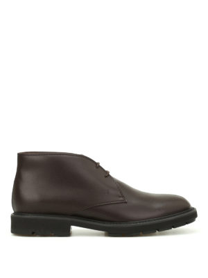 Tod'S: ankle boots - Brushed leather desert boots