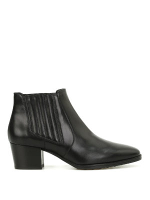 Tod'S: ankle boots - Heeled Chelsea boots