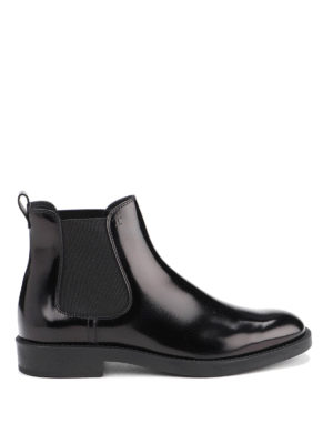 TOD'S: ankle boots - Leather ankle boots