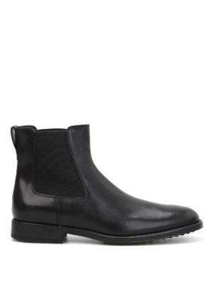 Tod'S: ankle boots - Leather booties