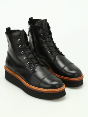 Tod'S: ankle boots online - 3A lace-up ankle boots