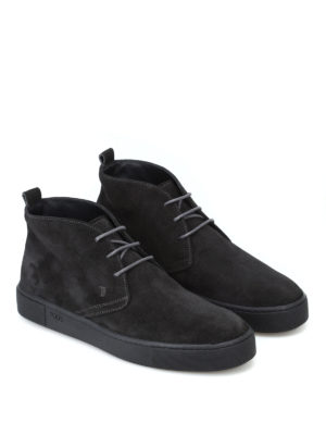 Tod'S: ankle boots online - 45A suede desert boots