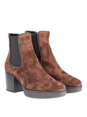 Tod'S: ankle boots online - 62A suede ankle boots