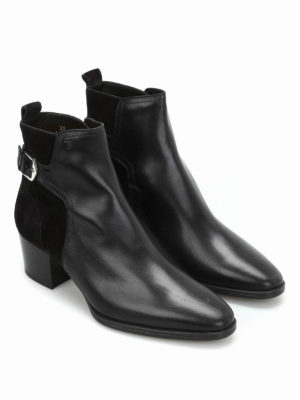 Tod'S: ankle boots online - Leather and suede ankle boots