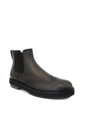 Tod'S: ankle boots online - Leather ankle boots