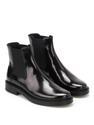 Tod'S: ankle boots online - Smooth leather ankle boots