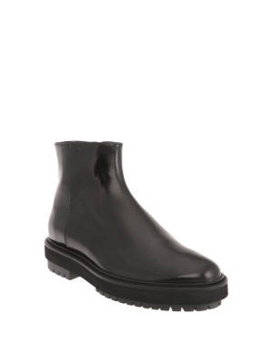 Tod'S: ankle boots online - Smooth leather booties