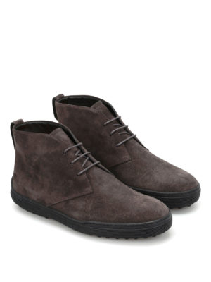 Tod'S: ankle boots online - Suede ankle boots