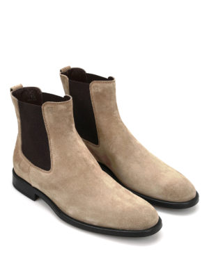 Tod'S: ankle boots online - Suede booties
