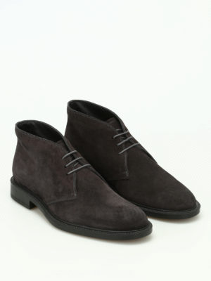 Tod'S: ankle boots online - Suede desert boots